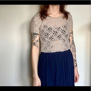 Urban Outfitters crochet crop top
